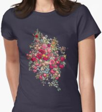 """Bouquety"" Women's Fitted T-Shirt"