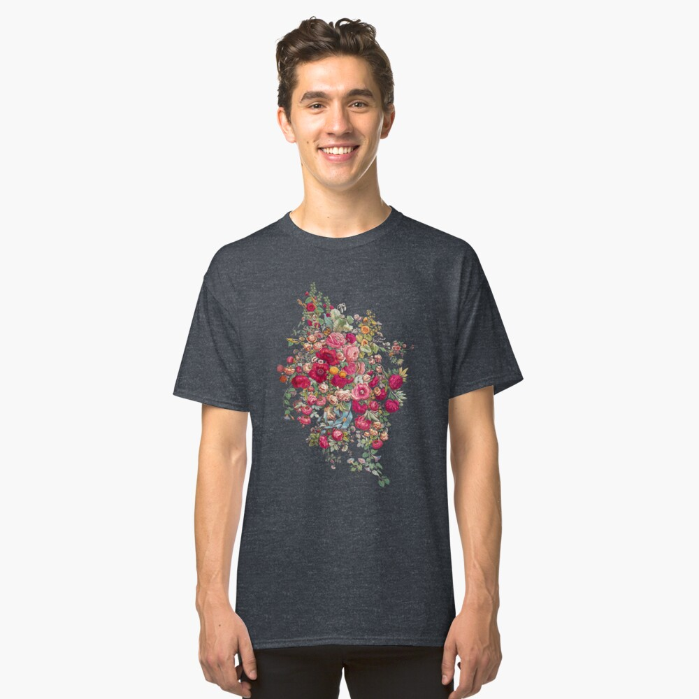 """""""Bouquety"""" Classic T-Shirt Front"""