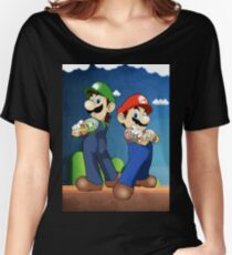 Mario Bros Women's Relaxed Fit T-Shirt