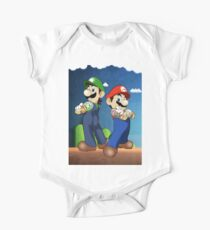 Mario Bros One Piece - Short Sleeve