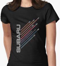 Subaru Fly Women's Fitted T-Shirt