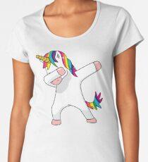 Unicorn Dab Shirt Dabbing Funny Magic Hip Hop T-Shirt For Men, Women, and Kids Women's Premium T-Shirt