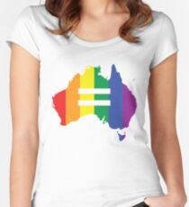 Australia Marriage Equality Women's Fitted Scoop T-Shirt