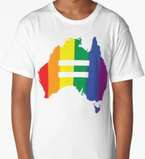 Australia Marriage Equality Long T-Shirt