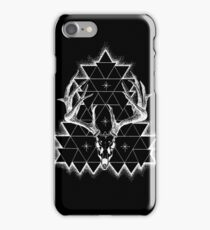 Decay - White Print iPhone Case/Skin