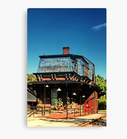 The Depot Canvas Print