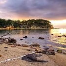 Sunrise at Quarantine Bay, NSW by Christine Smith