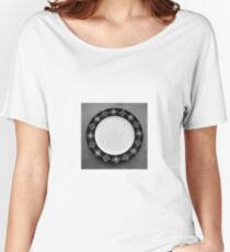 Geometric Plate Women's Relaxed Fit T-Shirt