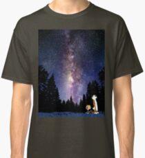 galaxy calvin and hobbes Classic T-Shirt