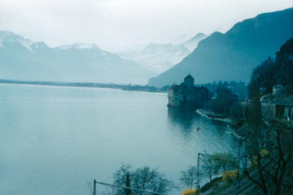 Montreaux Switzerland 2 by M. Stephanie Kellerman