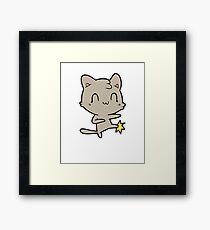Funny Karate Gift for Kids  Framed Print