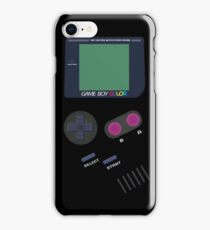Old Game Boy Video Console  iPhone Case/Skin