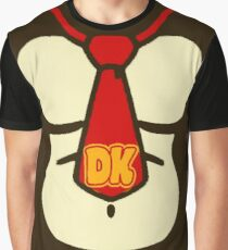 Donkey Kong Chest Graphic T-Shirt
