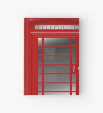 London Red Phone Booth Box  Hardcover Journal