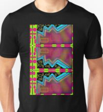 Neon Egg Zone 80's abstract design T-Shirt