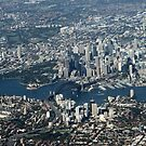 An aerial view of Sydney by Anthony Goldman