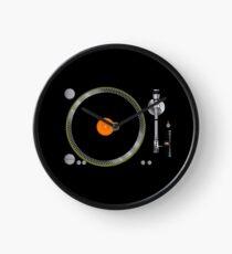 Turntable Music Vinyl Record Player  Gramophone Clock