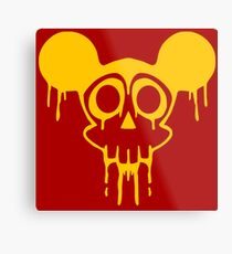 Dismaland Mickey Rat Metal Print