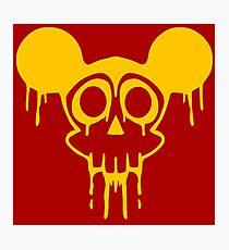 Dismaland Mickey Rat Photographic Print