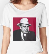 Al Capone art Women's Relaxed Fit T-Shirt