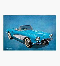 First Gen Corvette Photographic Print
