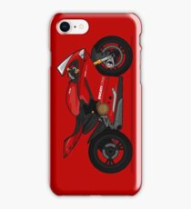 Ducati 1299 Panigale S Red iPhone Case/Skin