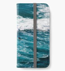 Surfing Away the Porblems iPhone Wallet