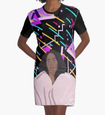 Seat at the Table Graphic T-Shirt Dress