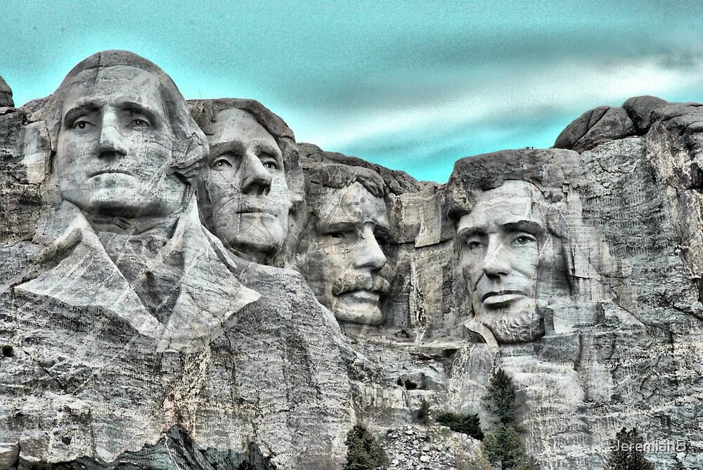 Mount Rushmore by JeremiahB