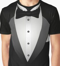 Tuxedo Suit  Graphic T-Shirt