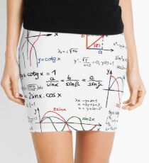 Mathematics Formulas Numbers  Mini Skirt