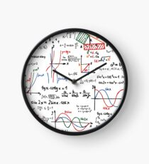 Mathematics Formulas Numbers  Clock