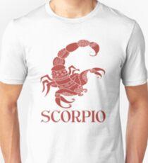Scorpio Zodiac Sign T-Shirt