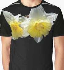 Beautiful Spring Life Of Daffodils Graphic T-Shirt