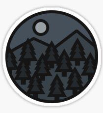 NIGHT stickers Sticker