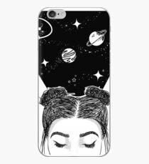 Galaxie Raum Mädchen iPhone-Hülle & Cover