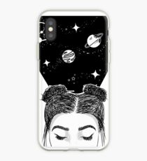 Galaxy Space Girl iPhone Case