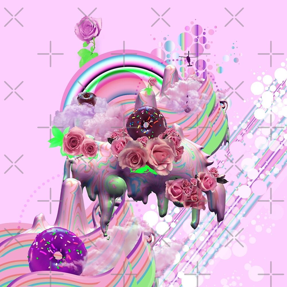 Strawberry Milk Bubbles by ChromaHolix