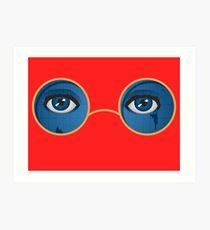 Gatsby eyes Art Print