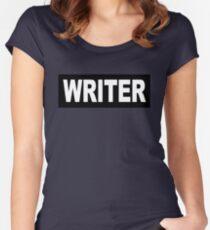 Castle - Richard Castle - Writer Women's Fitted Scoop T-Shirt