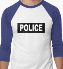 Castle - Kate Beckett - Police Men's Baseball ¾ T-Shirt