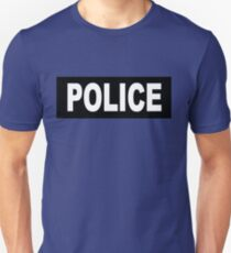 Castle - Kate Beckett - Police T-Shirt