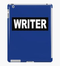 Castle - Richard Castle - Writer iPad Case/Skin