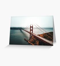 san francisco golden gate Greeting Card