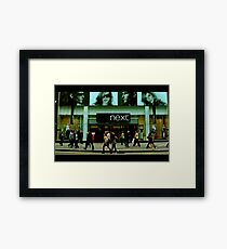 London Green 3 of 6 : Crowds A Framed Print