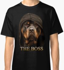 Rottweiler 'The Boss' Design by Zilly Tees Classic T-Shirt