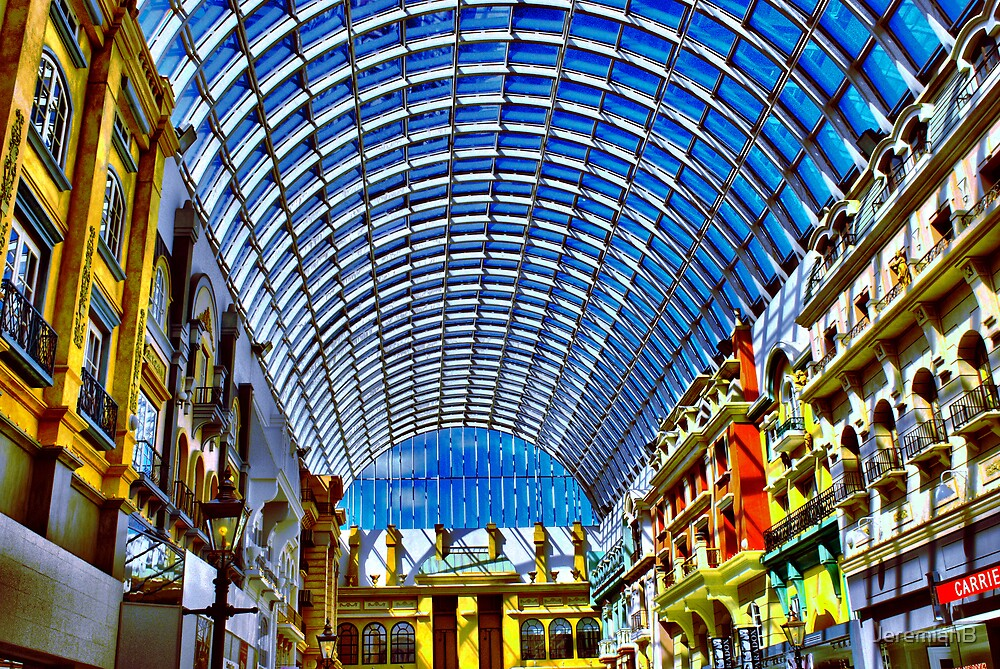 A small Part of the Edmontan Mall Canada by JeremiahB