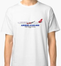Airbus A340-600 - Virgin Atlantic Airways Classic T-Shirt