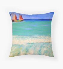 Cable Beach Broome Western Australia ... Throw Pillow