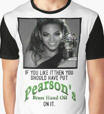 Pearson's Brass Hand Oil 2008 Graphic T-Shirt